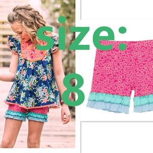 NEW Wildflowers Surfs Up Shorties size 8